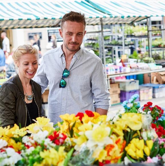 Saturday Market in Beverley