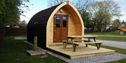 Glamping Hut at South Cliff Holiday Park, Bridlington, East Yorkshire