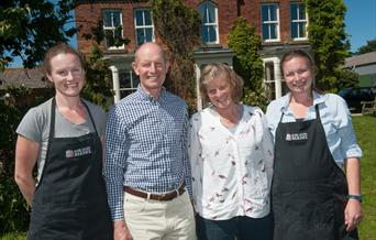 The owners of Side Oven Bakery, East Yorkshire