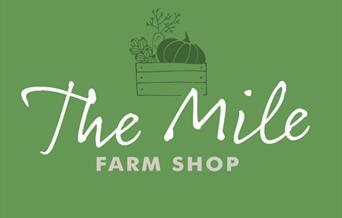 The logo for The Mile Farm Shop, Pocklington, East Yorkshire.