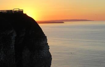 Dusk Cliff-top Walk