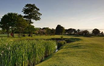 The 11th Hole at the golf course, in East Yorkshire