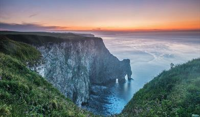 RSPB Bempton Cliffs in East Yorkshire by George Stoyle