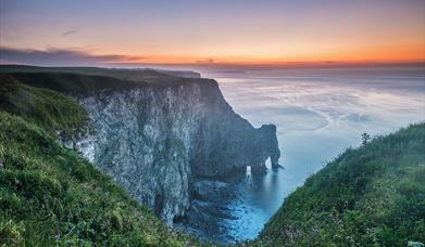 Bempton Cliffs in East Yorkshire by George Stoyle