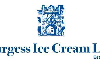 Burgess Ice Cream Ltd logo, est. 1924, in East Yorkshire