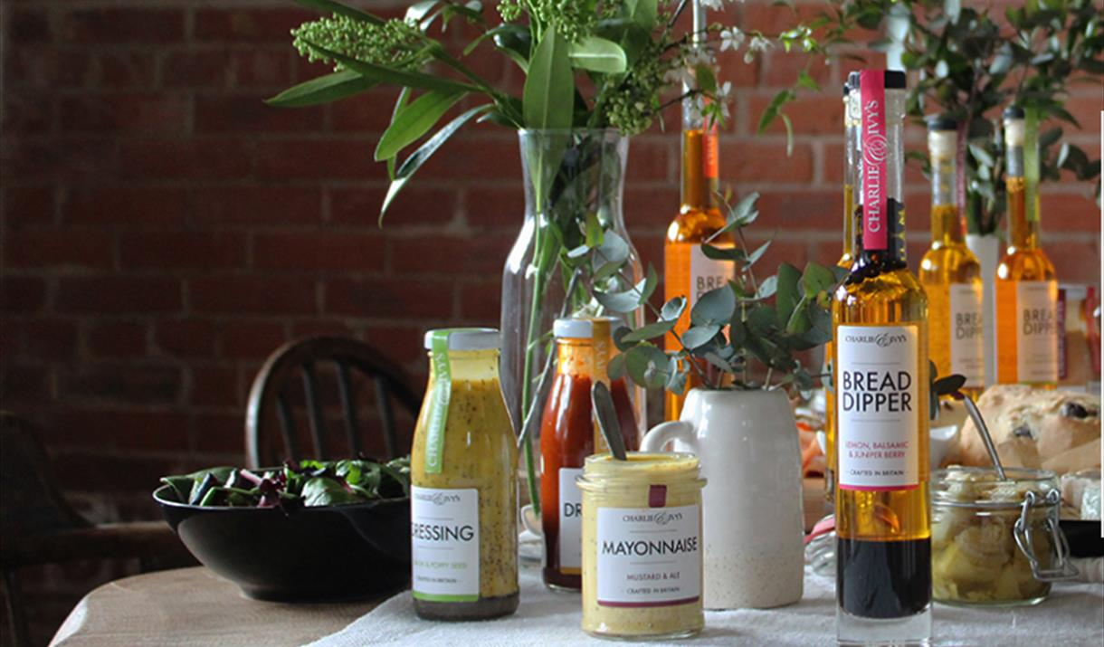 A range of products available from Charlie & Ivy's, in East Yorkshire