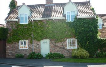 Th front of Toll Cottage in East Yorkshire.