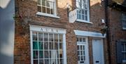 The outside of Aura, showing the separate entrance to the flat, in East Yorkshire Located in Beverley, East Yorkshire.