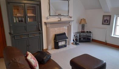 Living room in Travellers Rest Apartment, Beverley, East Yorkshire