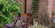 Garden seating, in East Yorkshire