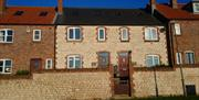 The exterior of East Newk Holiday Cottage, Flamborough, East Yorkshire.