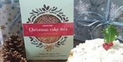 Dog-friendly Christmas cake mix from Distinctive Pets, in East Yorkshire