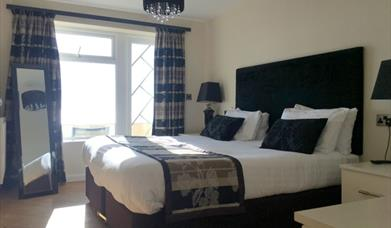 A double room at the Expanse apartments in East Yorkshire.