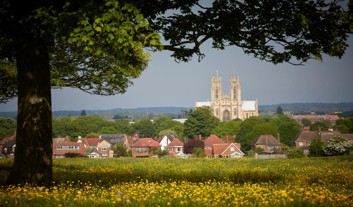 A view of Beverley, in East Yorkshire