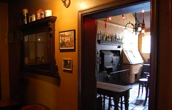 The traditional interior of Nellies, Beverley in East Yorkshire