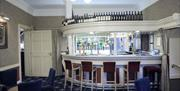 The bar area at Best Western Lairgate in East Yorkshire.