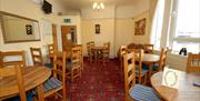 The dining room at The Alexandra Complex, Bridlington in East Yorkshire.