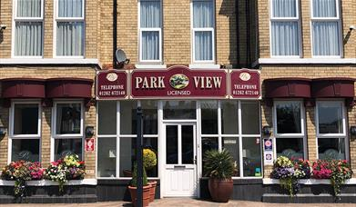 The exterior of  Park View Guest House in East Yorkshire.