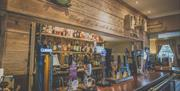 The bar at the Ship Inn Sewerby, East Yorkshire