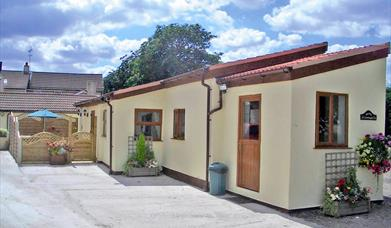 Some accommodation at Barmston Farm Holiday Park in East Yorkshire.