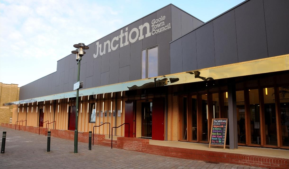 Exterior of the Junction, Goole, in East Yorkshire
