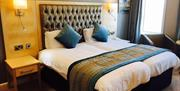 A double room at The Expanse Hotel in East Yorkshire.