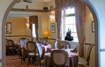 The dining area at North Star Hotel in East Yorkshire.