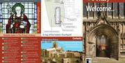 A leaflet back with details of The P:riory Church, Bridlington in East Yorkshire.