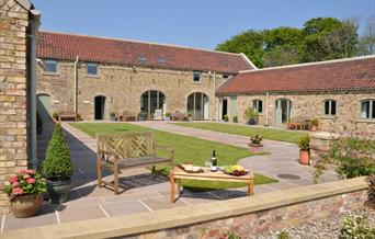 High Barn Cottages in East Yorkshire.