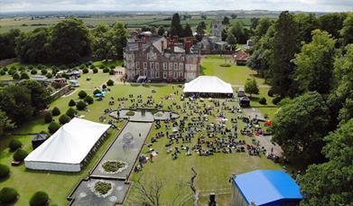 Burton Agnes Jazz & Blues Festival, Burton Agnes Hall, Burton Agnes, Driffield, East Yorkshire