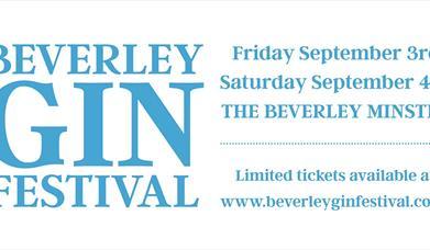 Beverley Gin Festival, Beverley, East Yorkshire