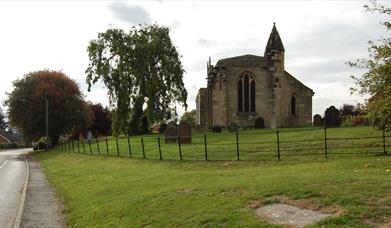 The church in the village of Bugthorpe in East Yorkshire.