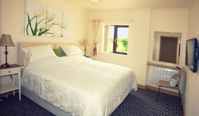 A double room at Buckton House in East Yorkshire.