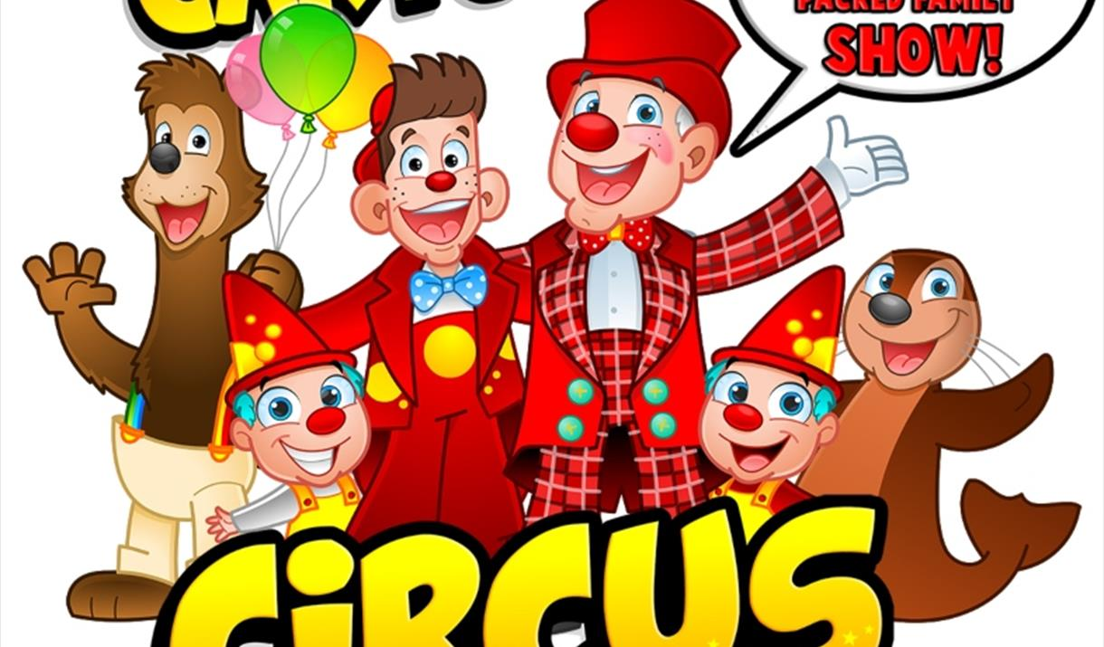 Cartoon Circus, appearing at Beverley and Cottingham, East Yorkshire