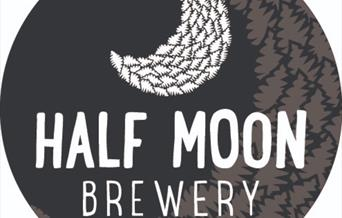 The Half Moon Brewery logo, East Yorkshire