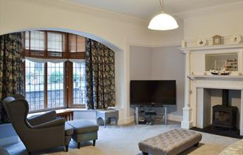 The lounge at Campbell Sands, in East Yorkshire