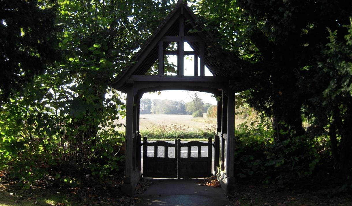 Cowick Church lych gate, Cowick, East Yorkshire