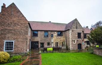 The exterior of Beverley Friary, in East Yorkshire