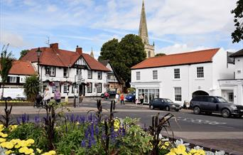 Hessle Square in East Yorkshire.