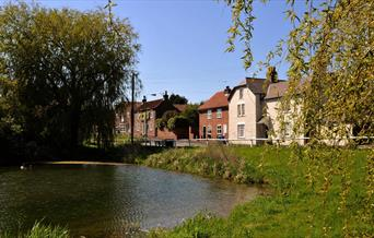 Kilham village in East Yorkshire.