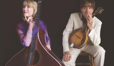 MAyor & James, performing at Ellerton Village Hall, East Yorkshire