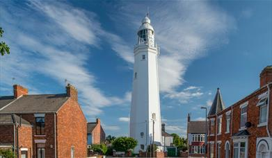 The Withernsea Lighthouse in East Yorkshire.