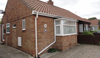 The exterior of Loucindi Cottage in East Yorkshire.