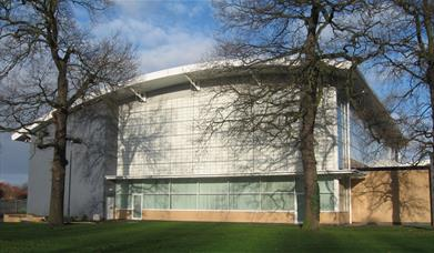 The exterior of Beverley Leisure Centre, in East Yorkshire