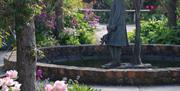 An image of a sculpture at Burton Agnes Hall & Gardens