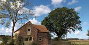 The Forge exterior, at Broadgate Farm Cottages, Walkington, Beverley, in East Yorkshire