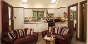 Fox Cottage Living Kitchen