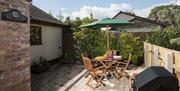 Fox Cottage Patio Garden