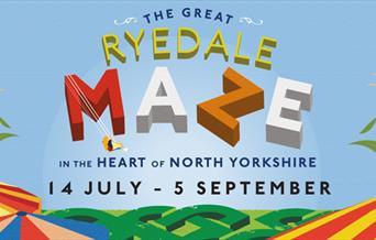 The Great Ryedale Maze, near Malton, Yorkshire