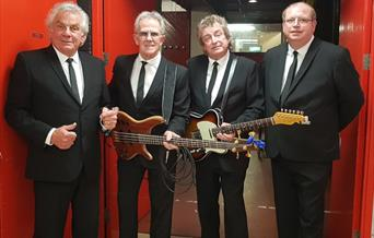 The band Herman's Hermits, in East Yorkshire